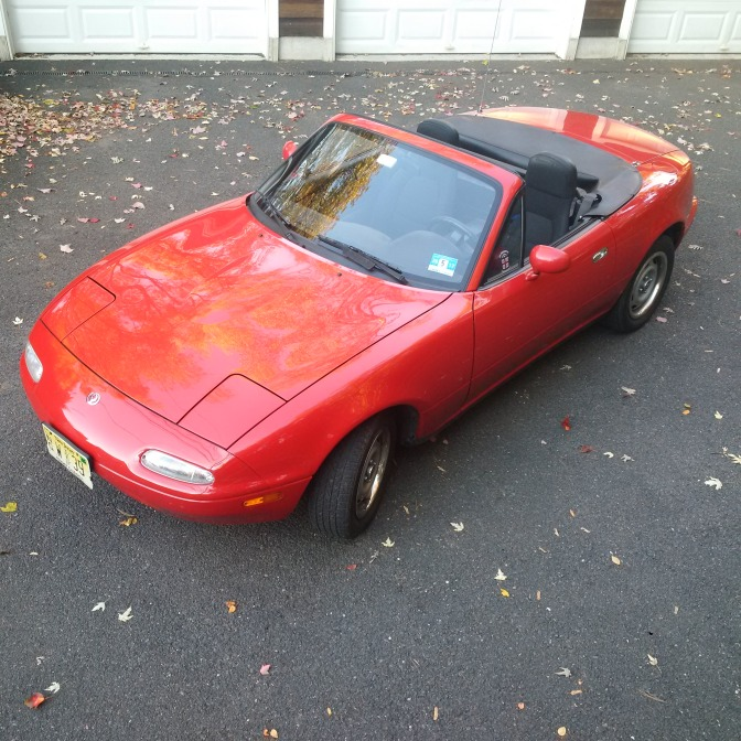 Our 1995 Miata refuses to grow old.