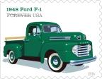 Post Office Honors Vintage Pickup Trucks