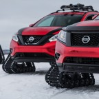 For Snowcat Lovers: Nissan's Tracked Trio